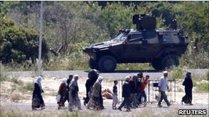 Türkiye Sınırına Suriyeli Akını