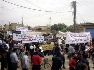 Dün Gece Hamada 3 Gösterici Katledildi