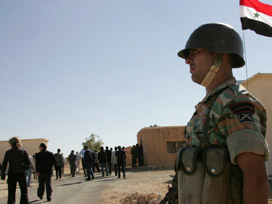 Suriye Ordusu Bir Köye Daha Girdi