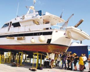 Gazze Filosundaki Bir Gemiye Daha Sabotaj