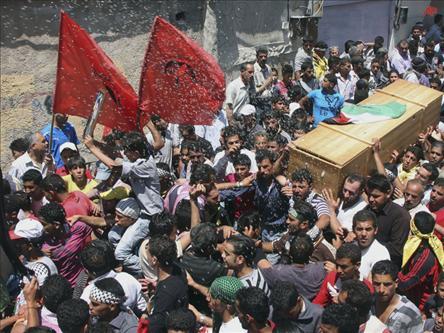 Suriyede Gösterilerde 6 Muhalif Öldürüldü