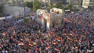 Baas Ordusu Hama'yı Kuşattı