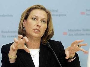 Kaddafinin Temsilcileri Livni İle Görüştü