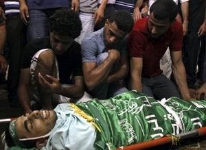 Sarhanın Cenazesine Binlerce Filistinli Katıldı (FOTO)