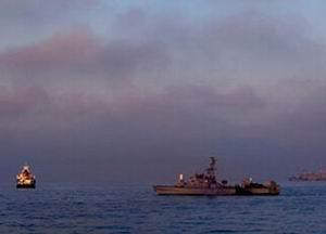 İsrail, Filodaki İlk Gemiyi Durdurdu