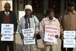 Kenyalılardan İngilizlere İşkence Davası