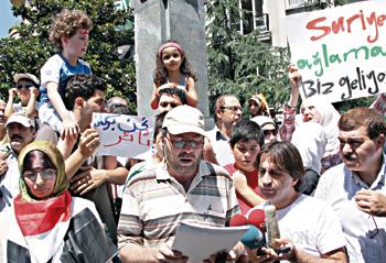 Suriye Halkıyla Dayanışma Eylemleri Sürüyor