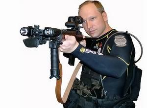 Breivikin Yargılandığı Mahkemede Eylem