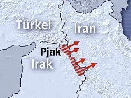 İrandan Kandile İkinci Saldırı Dalgası