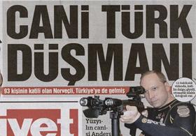 Hürriyet İslam Düşmanı Diyemedi