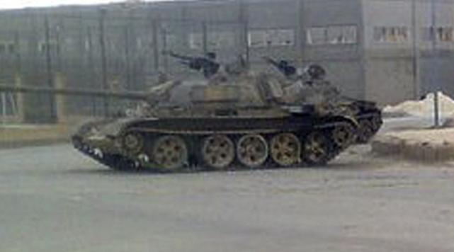 Suriye Ordusu Deir Ezzuru Bombaladı