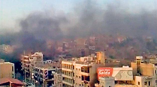 Hama ve Der Ez Zor'da Ölü Sayısı 150'yi Aştı
