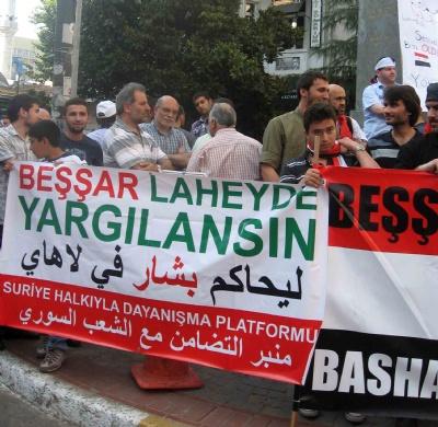 Hama Katliamı İstanbul'da Protesto Edildi