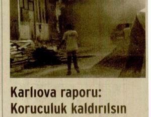Karlıova Raporu:Koruculuk Kaldırılsın
