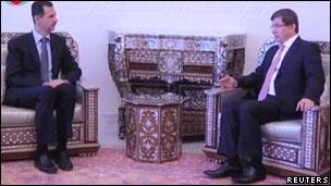 Davutoğlu Esad Görüşmesi Sona Erdi