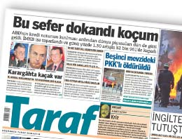Engin Ardıç, Taraf Gazetesine Fena Dokandı!