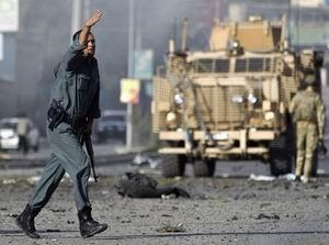 Kabilde British Councile Taliban Baskını