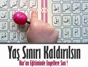 Kur'an Yasağına Sivil İtaatsizlik Eylemi