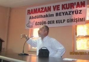 "Kulp'ta ""Ramazan ve Kur'an"" Konferansı"