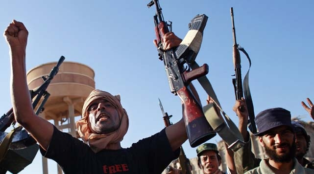Silahlar Libya Sokaklarından Çekilecek