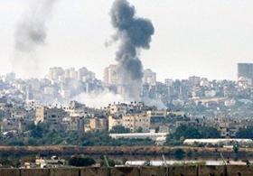 İsrail Gazzeye Saldırdı, 1 Mücahit Şehit Oldu