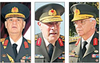 Üç Genelkurmay Başkanı da Yüce Divanlık