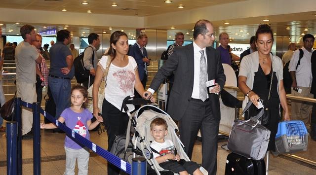 İsraildeki Büyükelçilik Görevlileri Geri Döndü