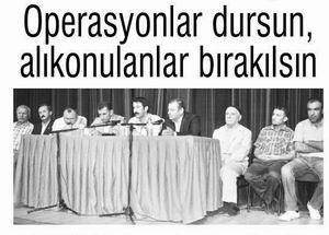 Tatvandan PKK ve Devlete Çağrı