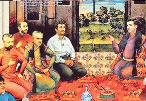 Dergi Kapattıran Ahmedinejad Hicvi