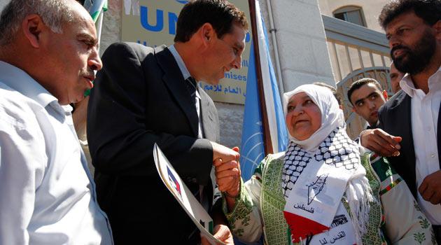 Filistin Resmen Başvurdu, ABD Veto Edecek