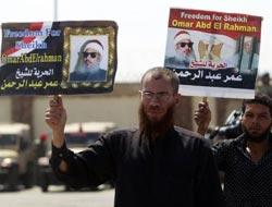 Mısır ABD Elçiliği Önünde Oturma Eylemi