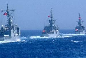 Üç Türkiye Firkateyni Akdenize Çıkıyor