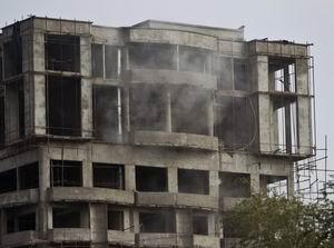 Taliban Kabilin Merkezini Vurdu (FOTO)