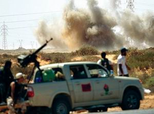 Kaddafi Karşıtı Güçler Beni Velide Girdi