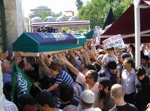 Çeçen Şehitler Fatihten Uğurlandı (FOTO)