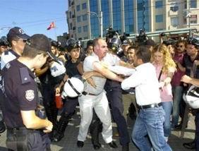Taksimde 122 BDPli Gözaltına Alındı