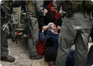 Düğünden Dönen Filistinli Kadınlara Saldırdılar