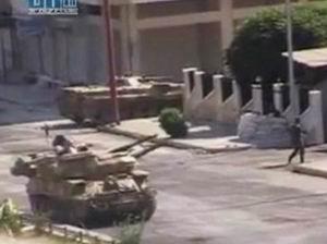 Suriye Ordusu Rastana Girdi