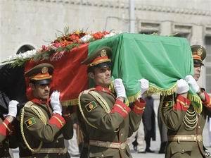 Rabbani Kabil'de Defnedildi; Fatihte Anıldı