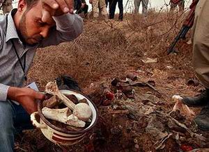 Trablusta Yüzlerce Kişilik Toplu Mezar Bulundu