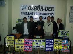 """Tatvan Özgür-Der: """"Akan Kan Dursun!"""""""