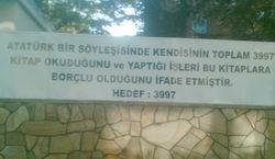 Atatürk Mezarda Kitap mı Okuyor?