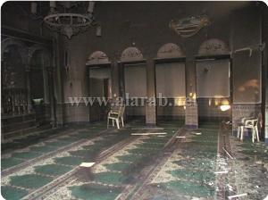 Siyonistler El-Celil Şehrinde Cami Yaktı