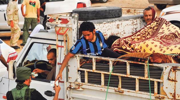 Sirtede 60 Bin Sivil Mahsur Kaldı