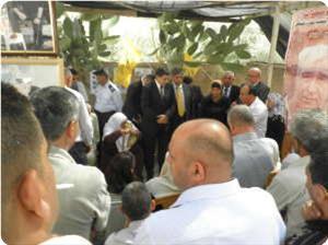 Türkiye Kudüs Başkonsolosu Eylem Çadırında