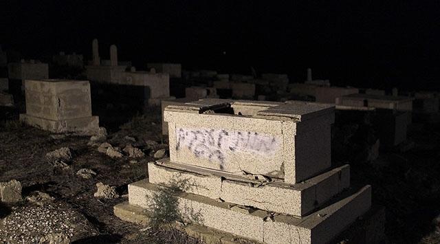 İsrailde Mezarlara Irkçı Saldırı