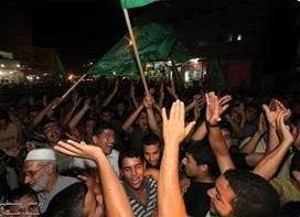Gazze Esirler İçin Adeta Bayram Ediyor