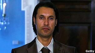 Kaddafinin Oğlu Sirtede Yakalandı