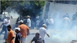 Tunusta İslami Muhalefete Polis Müdahalesi