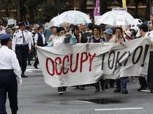 Küresel Protestolar Asyadan Başladı